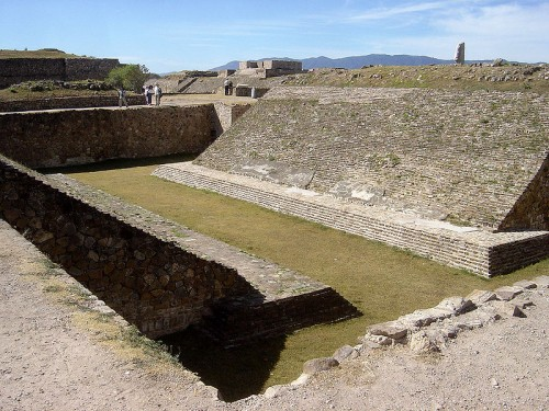 Ball-court of Monte-Alban (150-650 CE)