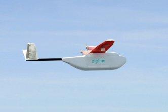 Drone-Robot-Zipline