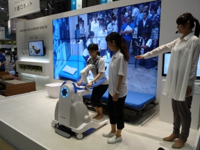 Panasonic's self-support robot