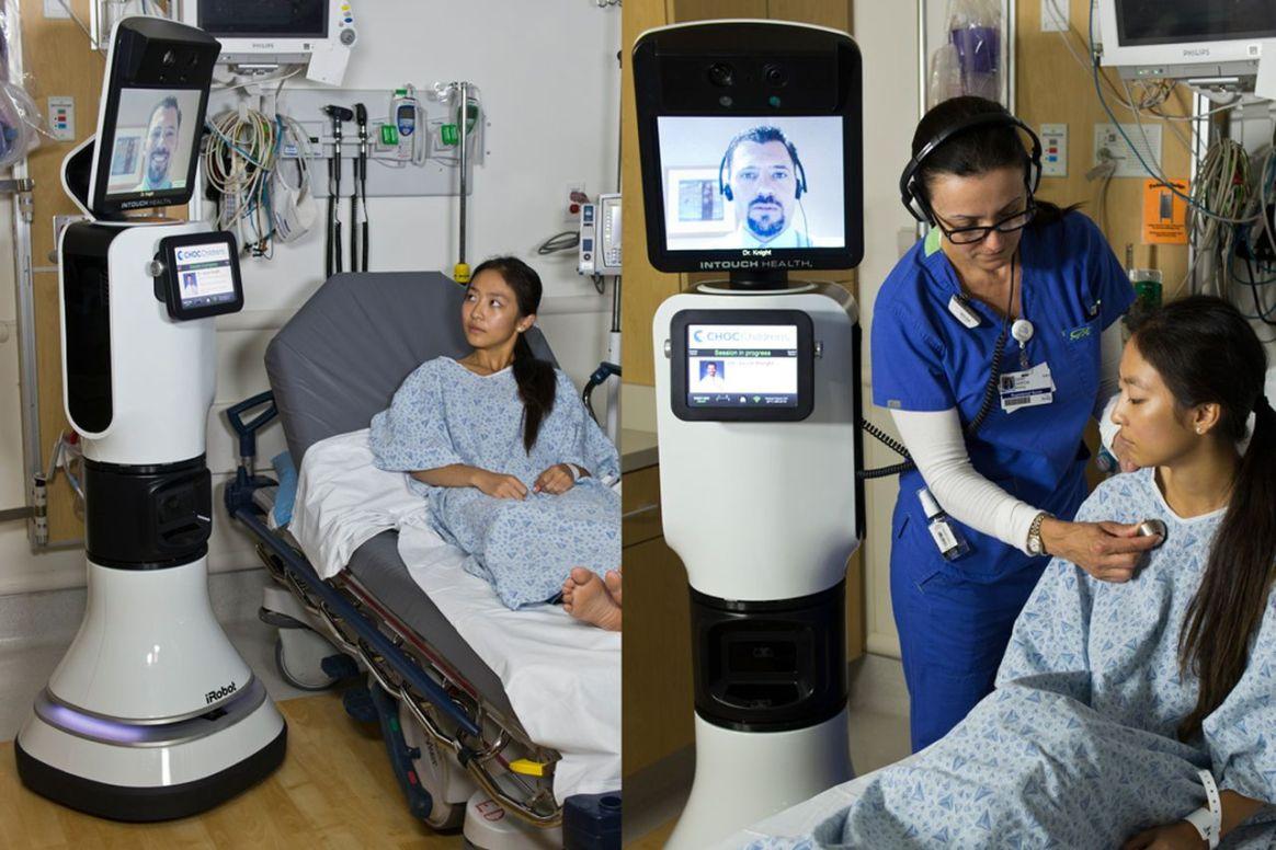 Robot-iRobot & InTouch