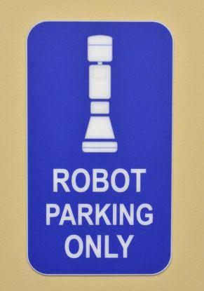 Dr. Robot's Parking Spot in ER